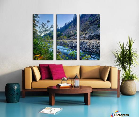 Wenatchee River  Split Canvas print