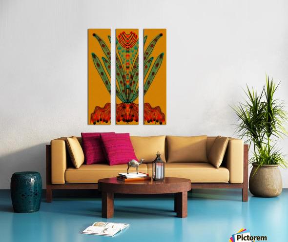Naturally   Split Canvas print