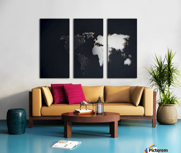Dark Continent Briala Split Canvas print