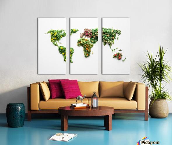 Light Continent Ciriel Split Canvas print