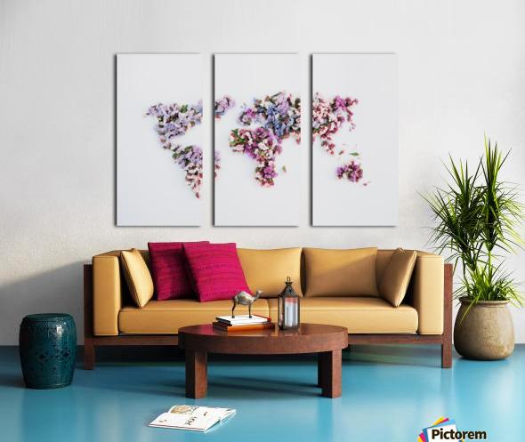 Light Continent Betria Split Canvas print