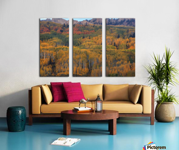 UNFORGETTABLE  Split Canvas print