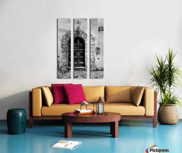 MONTEPULCIANO Split Canvas print