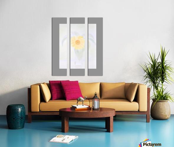 29 Split Canvas print