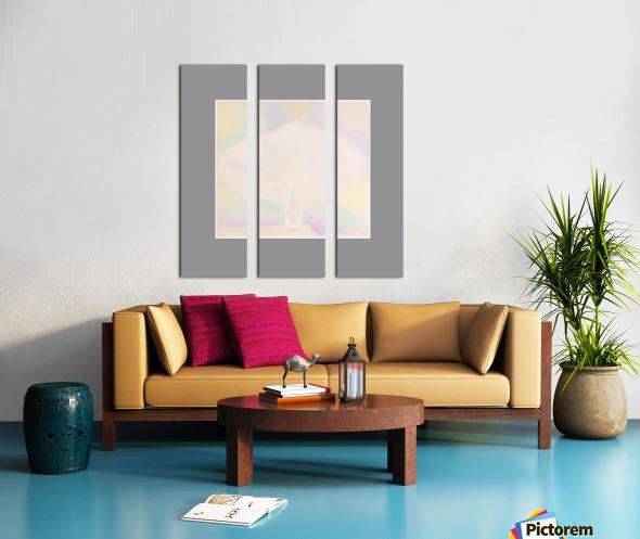 33 Split Canvas print
