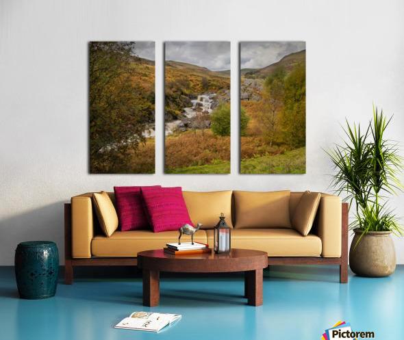 Elan valley landscape Split Canvas print