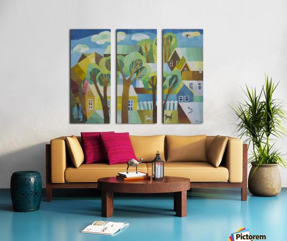 5 Split Canvas print