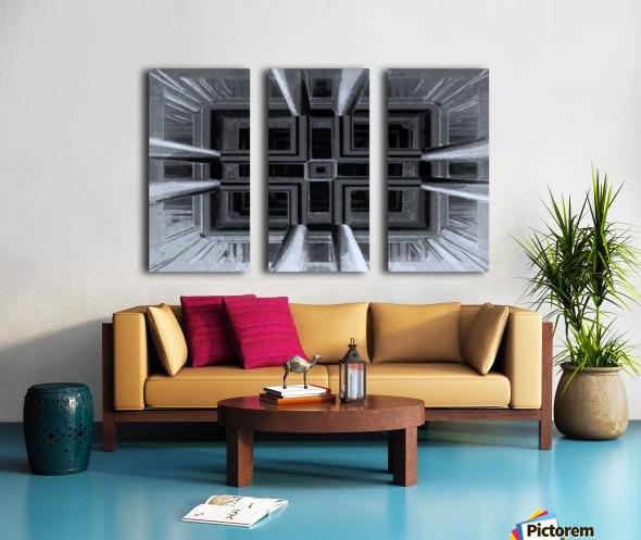 oben oder unten  Split Canvas print