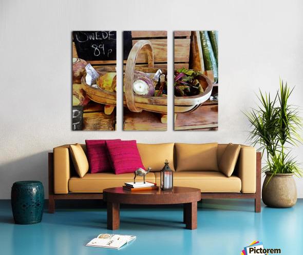 Swede Sale Display Split Canvas print