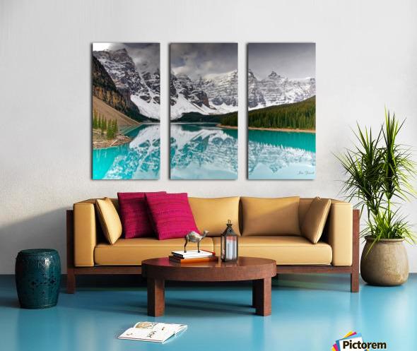 Canadian Rockies Split Canvas print