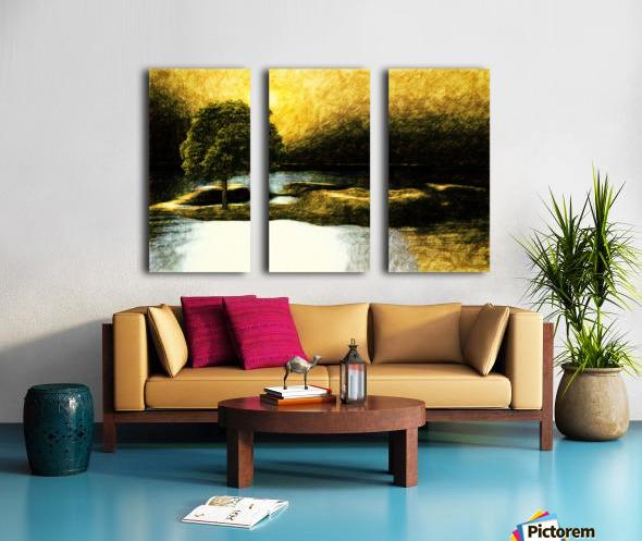 the Tree Split Canvas print