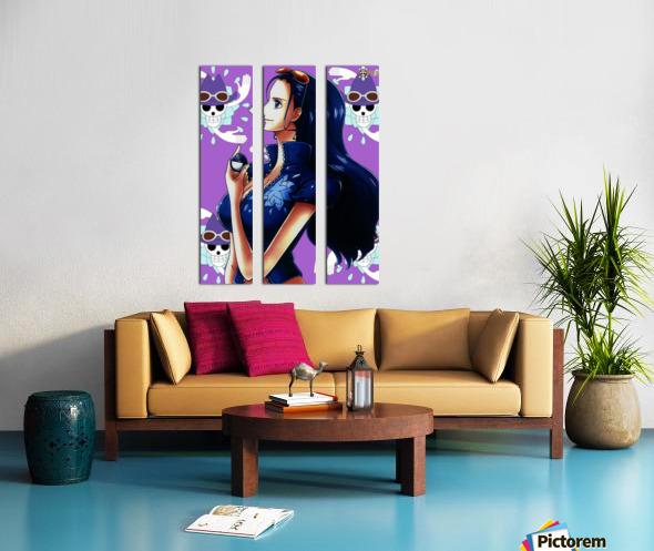 Robin Split Canvas print