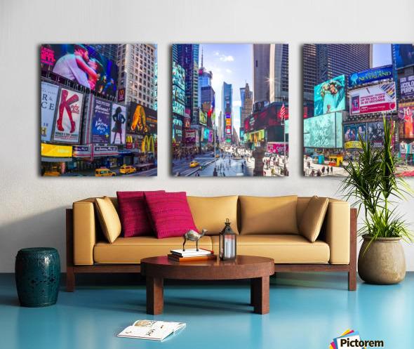 Times Square, New York City Split Canvas print