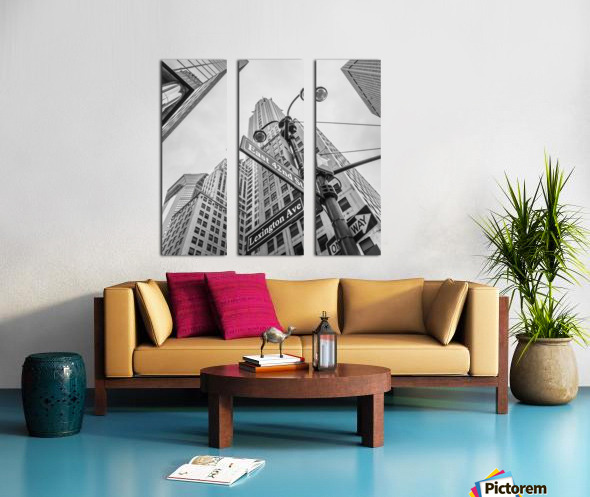 Chrysler Building in New York city Split Canvas print