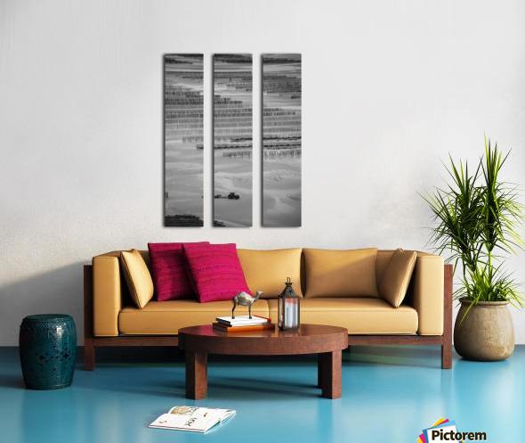 Cancale Split Canvas print