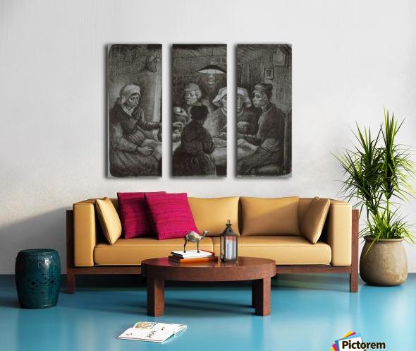 Potato Eaters by Van Gogh Split Canvas print