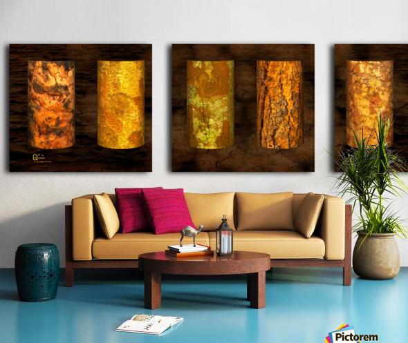 tree bark strong Split Canvas print