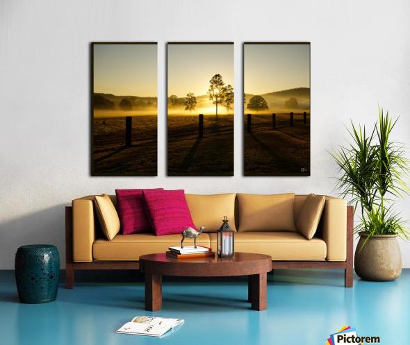 glenreagh sunrise Split Canvas print