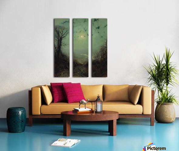 Wharfedale Split Canvas print