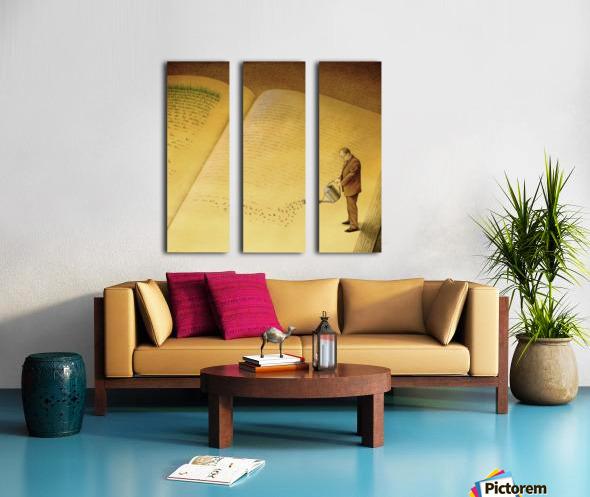 gardener Split Canvas print