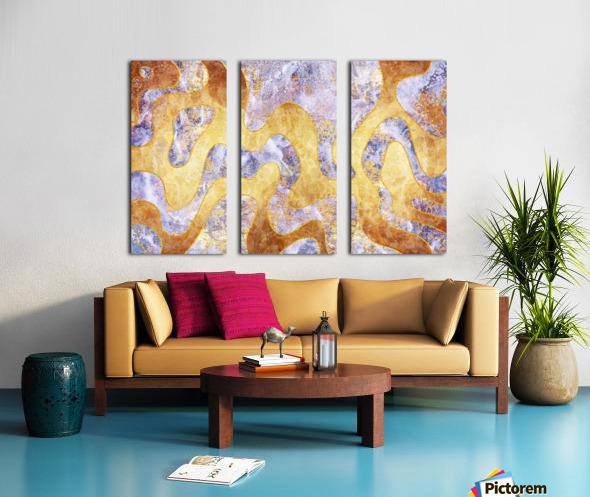 Abstract Marble XXIX Split Canvas print
