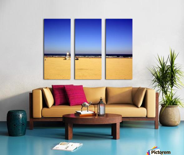 Oregon Coast   Golden Sands Split Canvas print