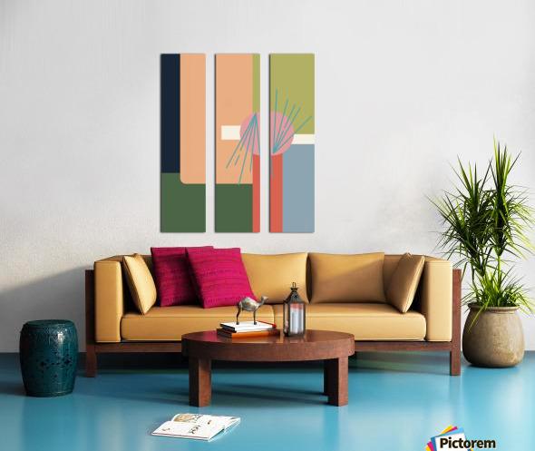 Abroad  Split Canvas print