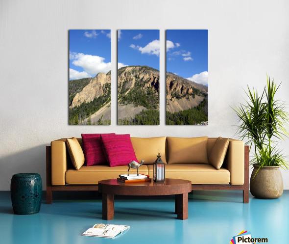 Yellowstone National Park 2 Split Canvas print