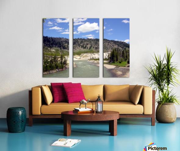 Yellowstone National Park 3 Split Canvas print