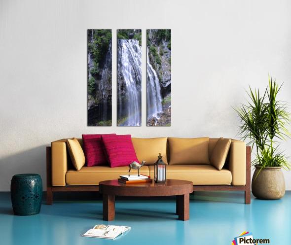 Narada Falls at Mount Rainier Pacific Northwest Split Canvas print