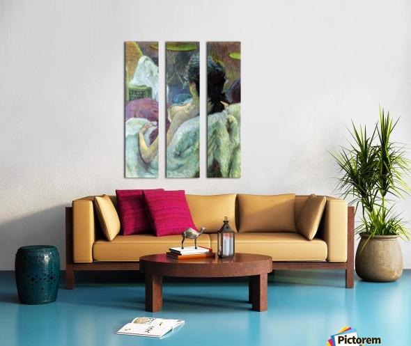 Resting Model by Toulouse-Lautrec Split Canvas print
