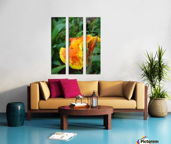 Floral Delight Split Canvas print