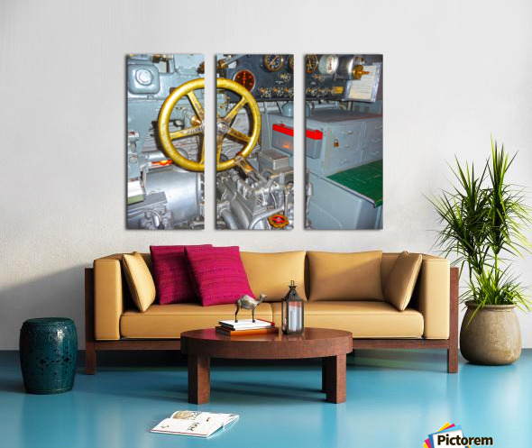 Submarine 2 Split Canvas print