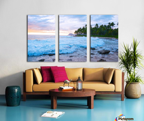 Untamed Hawaii Split Canvas print