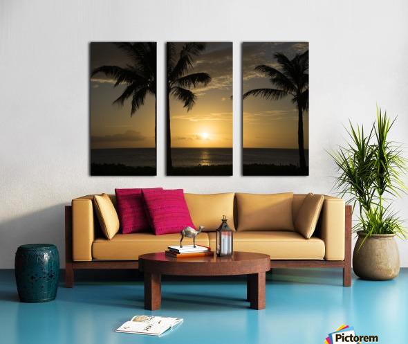 Perfect Day Split Canvas print