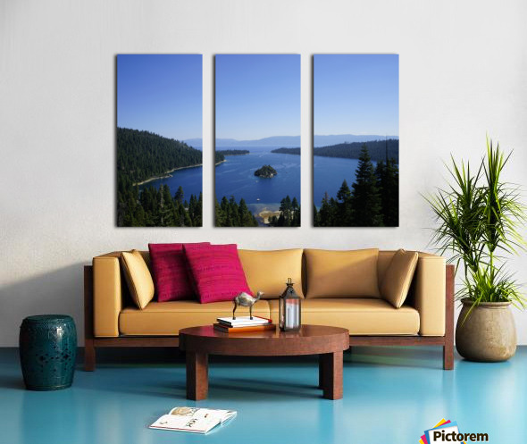 Top of the Lake Split Canvas print