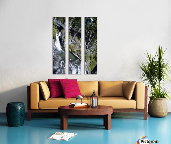 From Bridge to Stream Split Canvas print