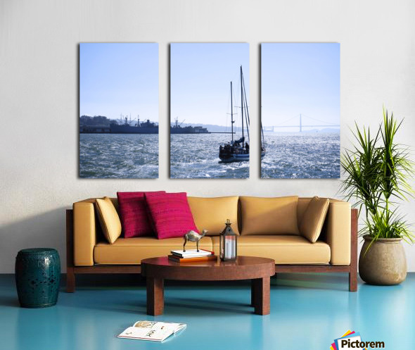 Golden Gate Dreams @ San Francisco Split Canvas print