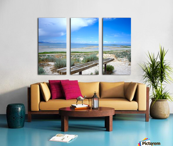 The Great Salt Lake 1 of 7 Split Canvas print