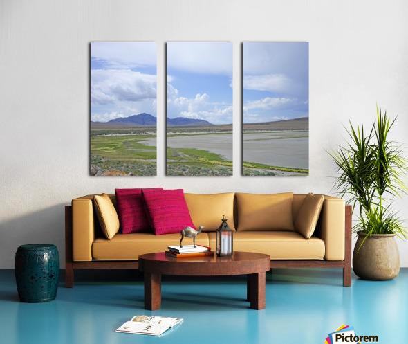 The Great Salt Lake 3 of 7 Split Canvas print