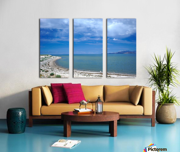 The Great Salt Lake 6 of 7 Split Canvas print