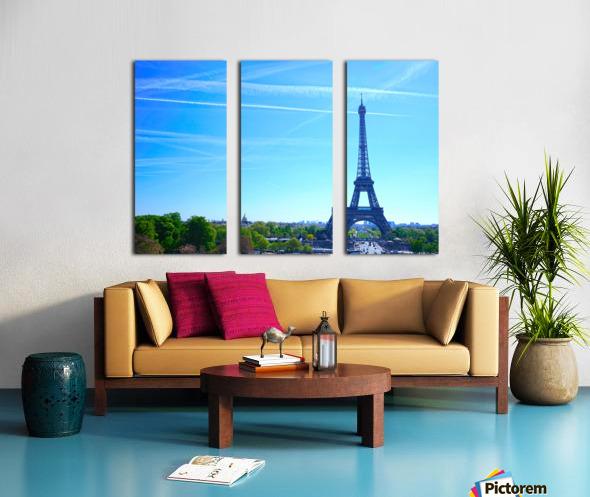 Eiffel Tower Split Canvas print