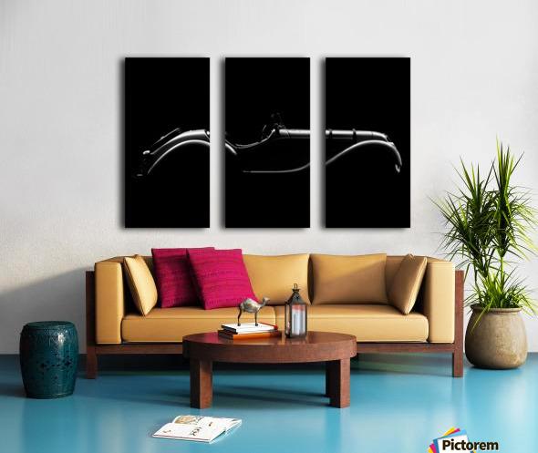 Silhouette by Alvaro Perez  Split Canvas print