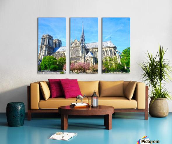 Notre Dame Paris Split Canvas print