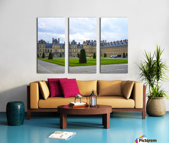 Chateaus of France 3 Split Canvas print