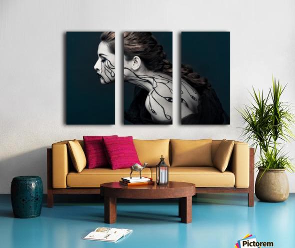 Eye to Eyes by Yudhistira Yogasara  Split Canvas print