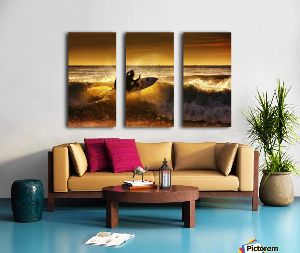 Front side by Marco Petracci  Split Canvas print