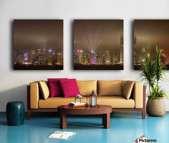 Hong Kong Island by Daniel Murphy  Split Canvas print