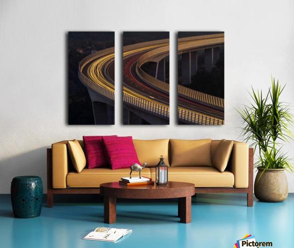 Viadukt AŒrni Kal by Jaka Ivancic  Split Canvas print