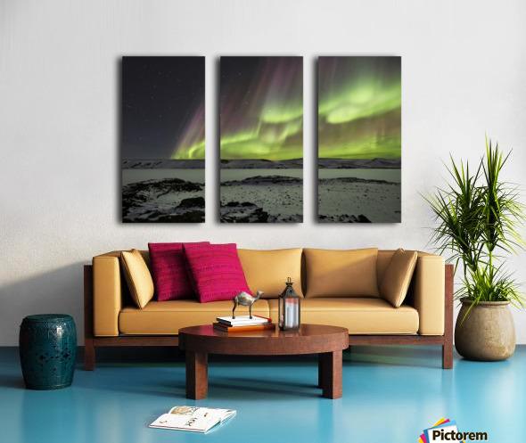 Celestial by Bragi Ingibergsson - Split Canvas print